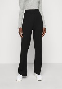 YAS Tall - YASFIBA PANTS  - Trousers - black - 0
