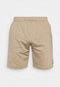 Nike Performance - YOGA - Korte broeken - khaki/brown kelp - 4