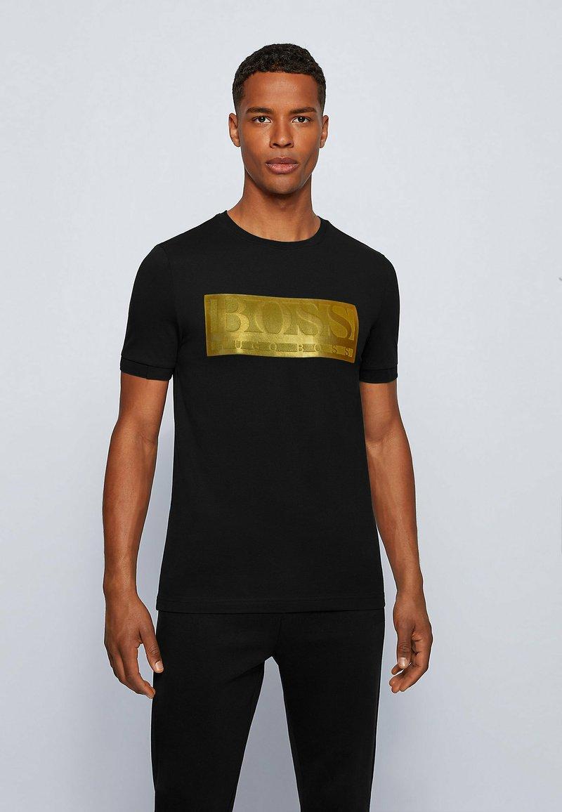BOSS - TEE BATCH  Z - Print T-shirt - black