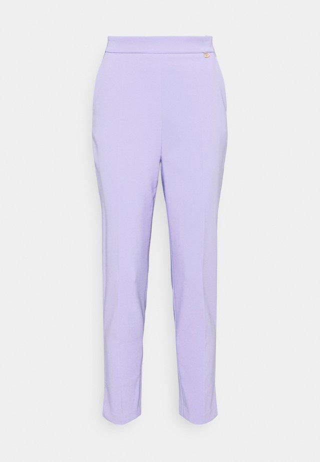 Spodnie materiałowe - lavanda