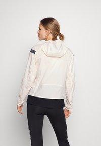 adidas Performance - MARATHON RUNNING ADIZERO PRIMEBLUE JACKET - Sports jacket - white/black - 2