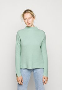 FTC Cashmere - HIGHNECK - Stickad tröja - soft pistachio - 0