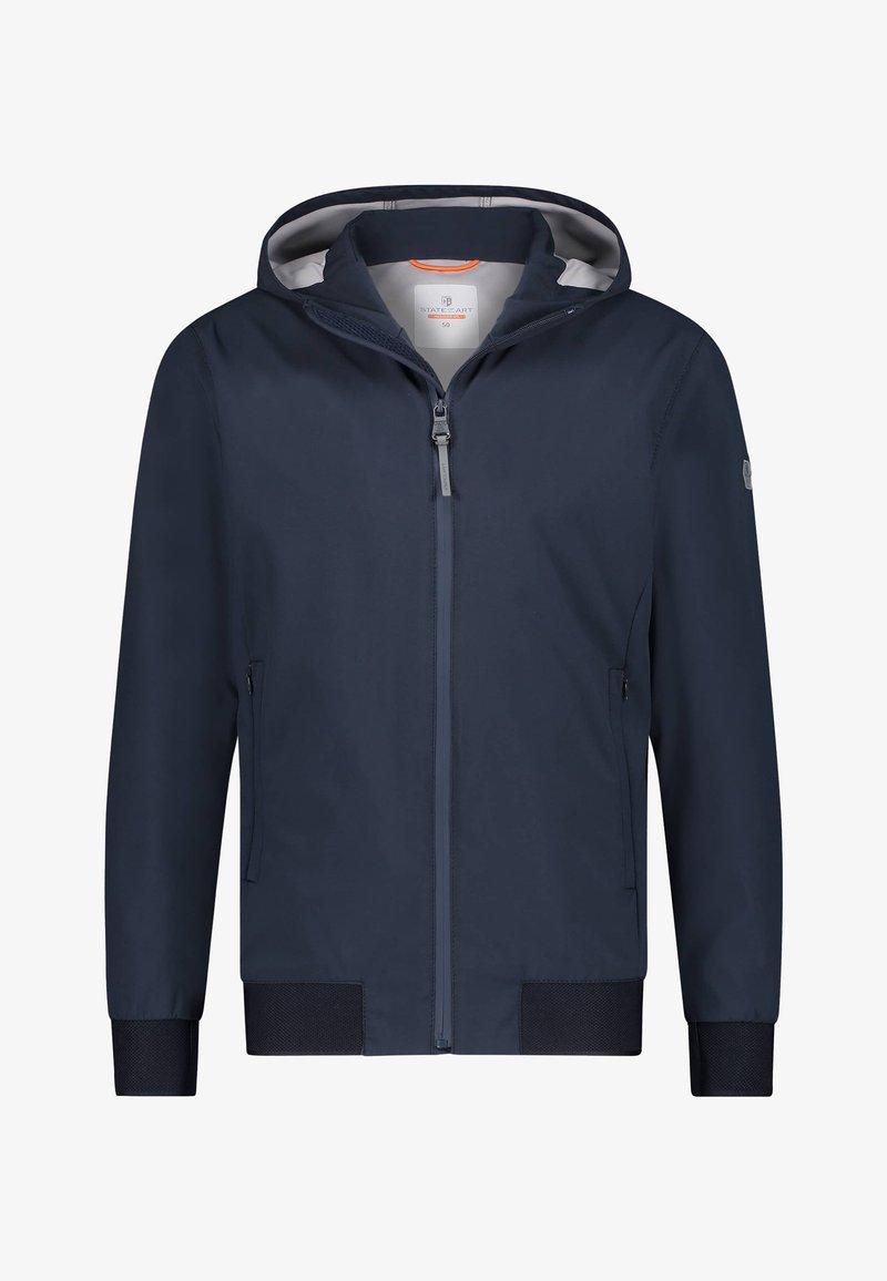 State of Art - Light jacket - dark-blue plain