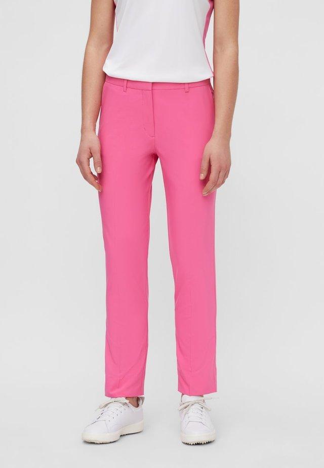 KAIA GOLF PANT - Pantalon classique - pop pink