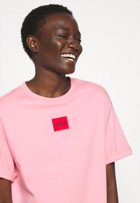 HUGO - NEYLE - Jersey dress - bright pink - 4