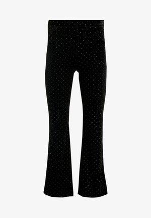 TORA VELVET TROUSERS - Trousers - black