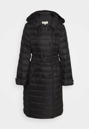 PACKABLE TRENCH PUFFR - Down coat - black