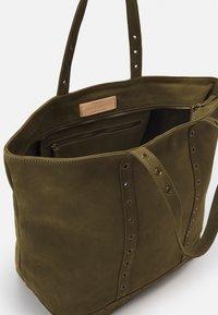 Vanessa Bruno - CABAS MOY ZIPPE - Shopping bag - olive - 2