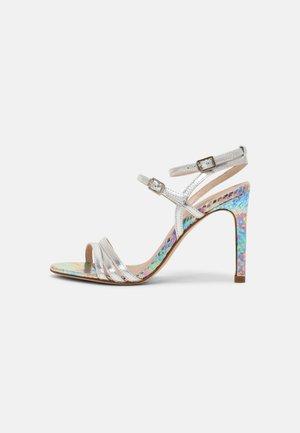 ARLINA - High heeled sandals - argent