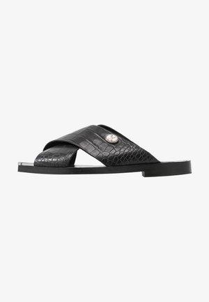ANOMA - Pantofle - black