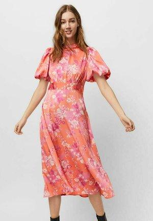 Day dress - emberglow