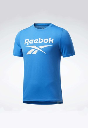 WORKOUT READY SUPREMIUM GRAPHIC TEE - T-shirt print - blue