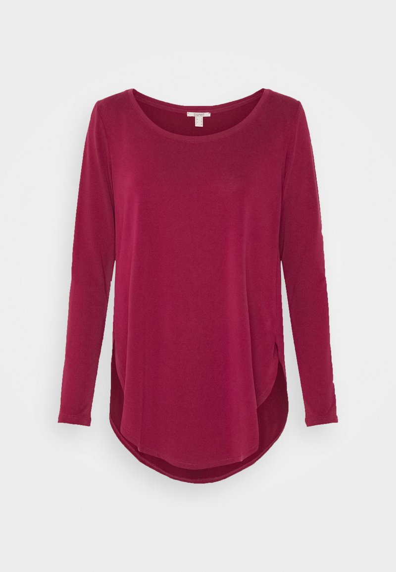 Esprit - Maglietta a manica lunga - bordeaux red