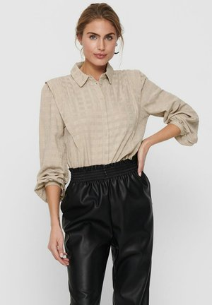 LANGÄRMELIGE - Button-down blouse - humus