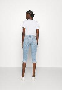 Mavi - ALMA - Denim shorts - light blue denim - 2