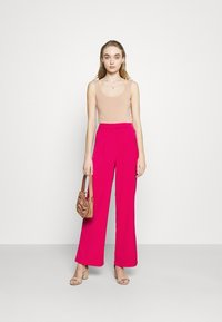 4th & Reckless - VIVIAN TROUSER - Trousers - pink - 1