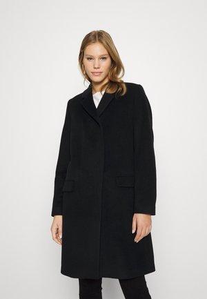 TINA - Classic coat - black