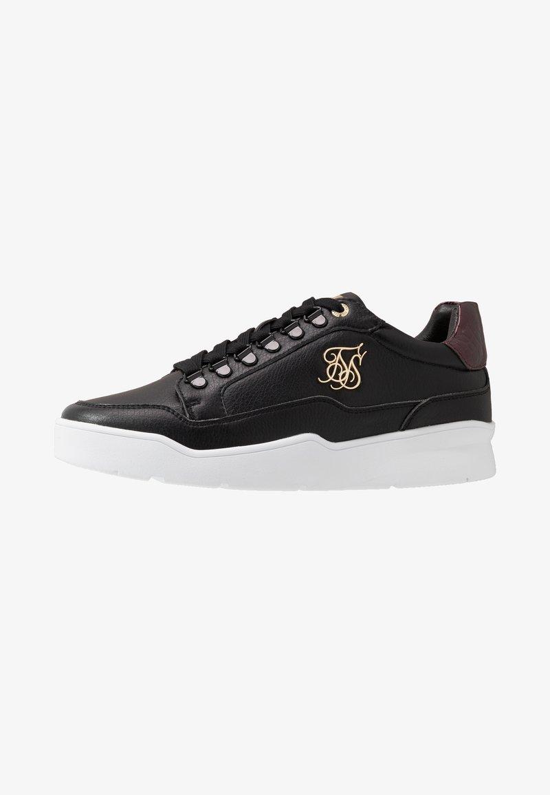 SIKSILK - D-RING PURSUIT - Sneakers basse - black/burgundy
