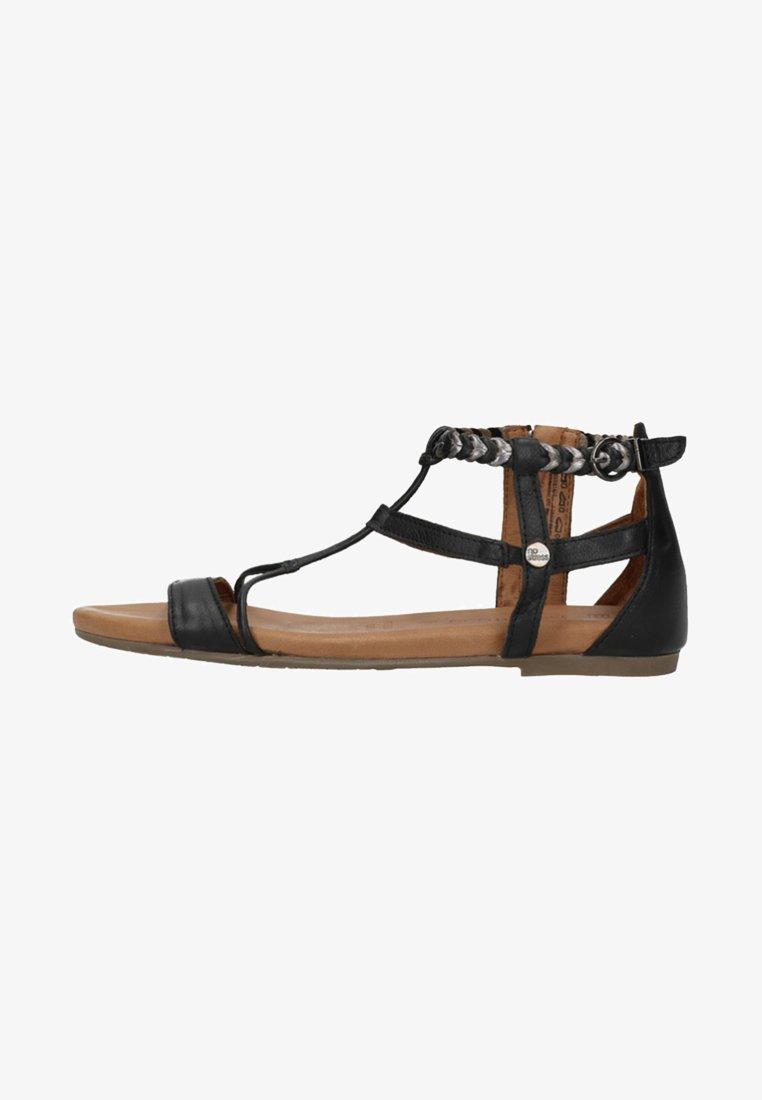 Manfield - Sandals - black