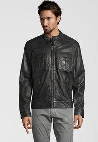 Capitano - NEBRASKA  - Leather jacket - anthracite - 0
