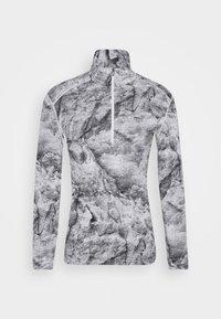 VERTEX HALF ZIP - Undershirt - snow