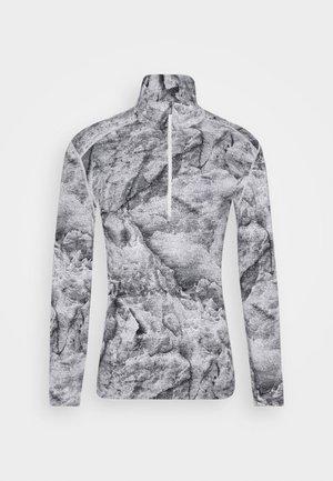 VERTEX HALF ZIP - Unterhemd/-shirt - snow
