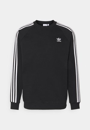 3 STRIPES CREW UNISEX - Sudadera - black