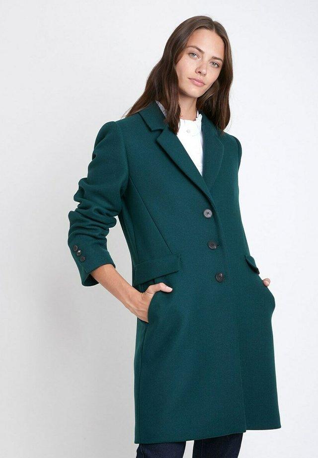 Classic coat - vert émeraude