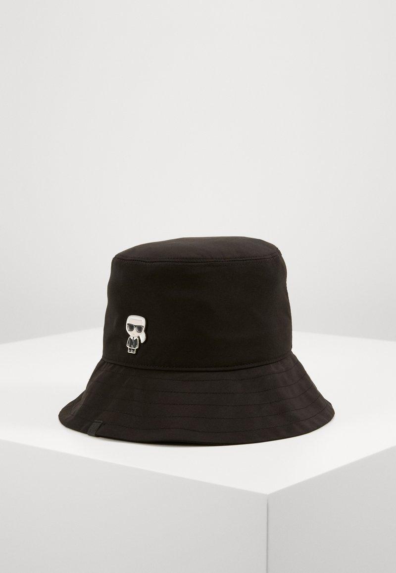KARL LAGERFELD - K/IKONIK BUCKET HAT - Hat - black