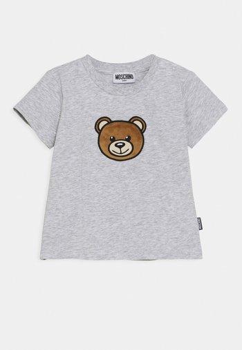 ADDITION UNISEX - Print T-shirt - grigio chiaro melange