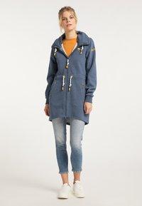 Schmuddelwedda - Zip-up hoodie - marine melange - 1