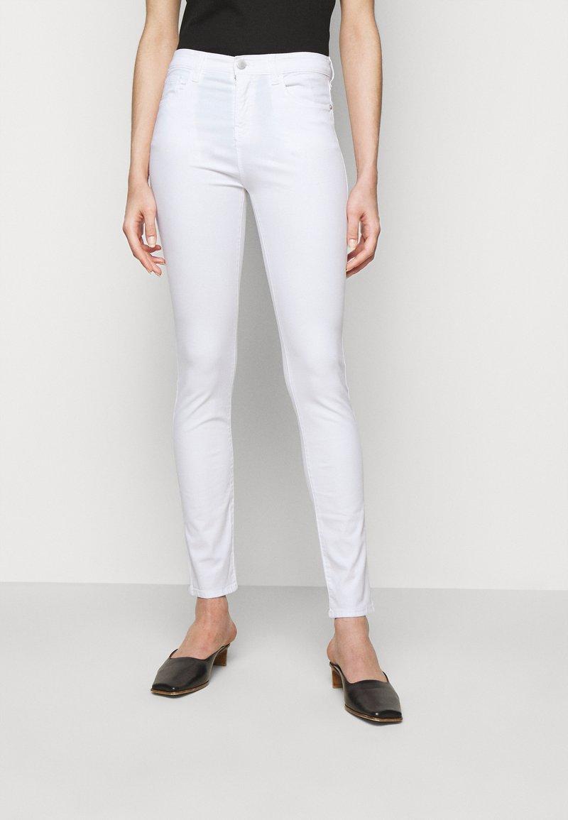 Emporio Armani - Kalhoty - white