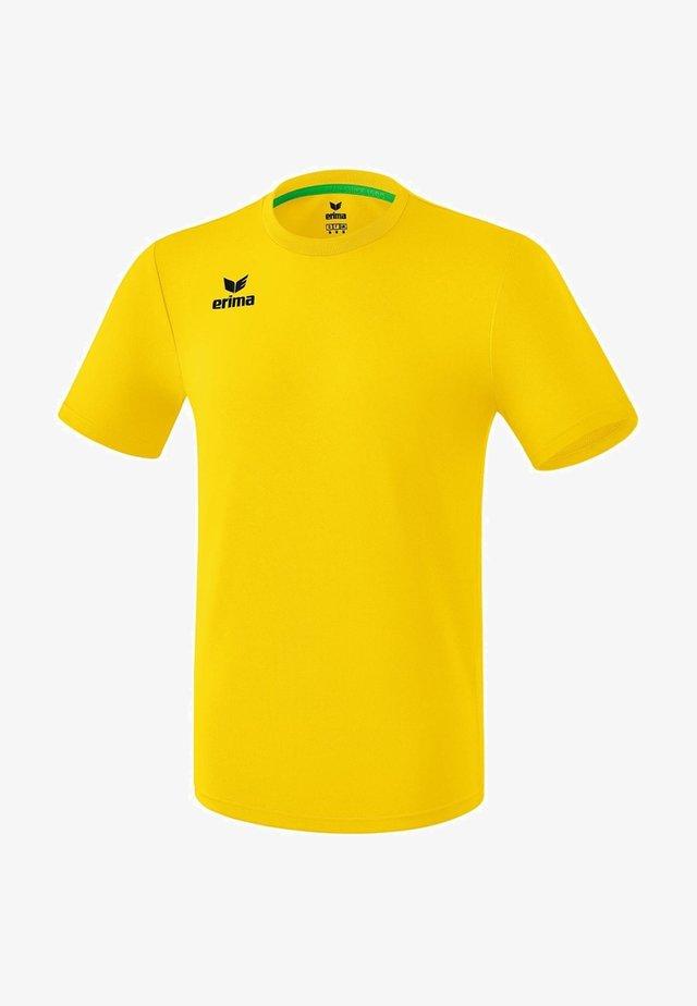 Sports shirt - yellow