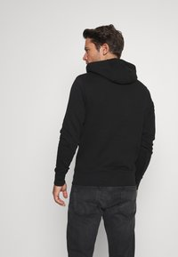 Tommy Hilfiger - BASIC EMBROIDERED HOODY - Sweat à capuche - black - 2