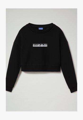 B-BOX CROPPED C - Sweatshirt - black