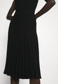 Milly - CAMI TOP PLEATED MIDI DRESS - Cocktail dress / Party dress - black - 5