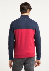 Petrol Industries - Zip-up hoodie - fire red - 2