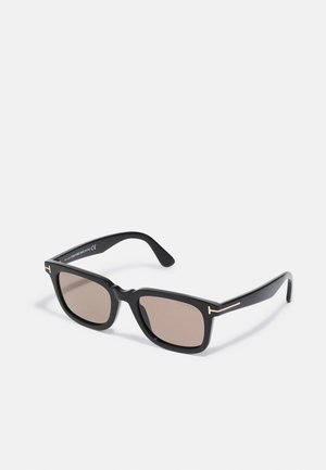 UNISEX - Sunglasses - shiny black/brown