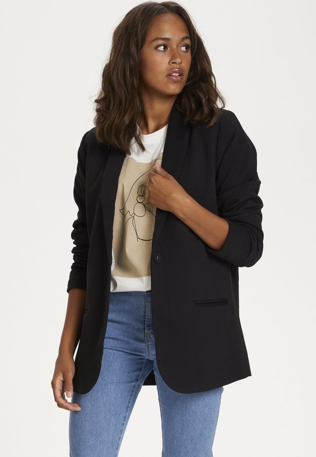 Blazer - black deep