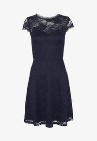 Anna Field - ALL OVER LACE DRESS FIT AND FLARE - Cocktail dress / Party dress - evening blue - 4