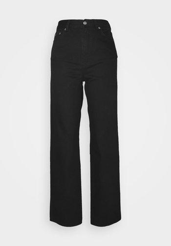 ECHO - Straight leg jeans - black