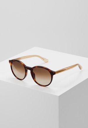 Sunglasses - havana/beige
