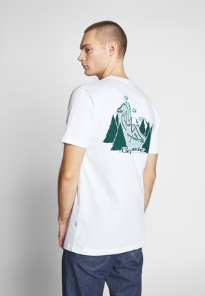 GULLCOASTER - T-shirt z nadrukiem - white