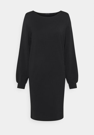 DRESS SHIRT BODY VOLUME SLEEVE - Day dress - black