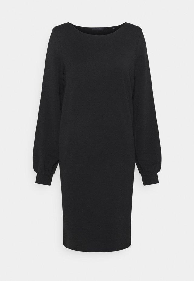 DRESS SHIRT BODY VOLUME SLEEVE - Denní šaty - black