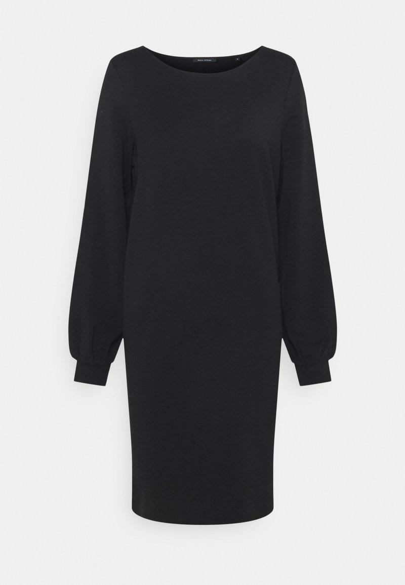 Marc O'Polo - DRESS SHIRT BODY VOLUME SLEEVE - Day dress - black