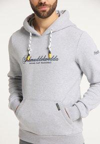 Schmuddelwedda - Hoodie - hellgrau melange - 3