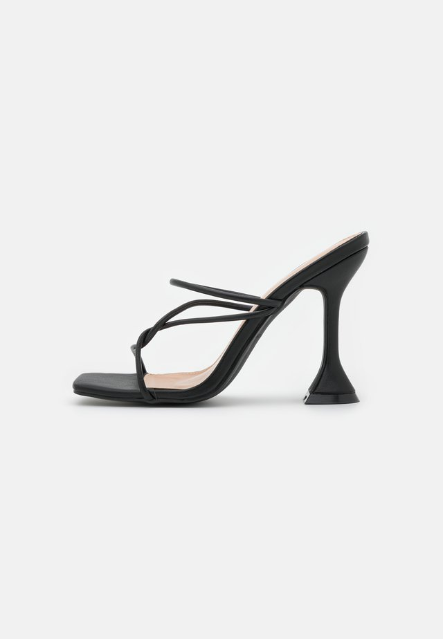 ENSLEY - Ciabattine - black