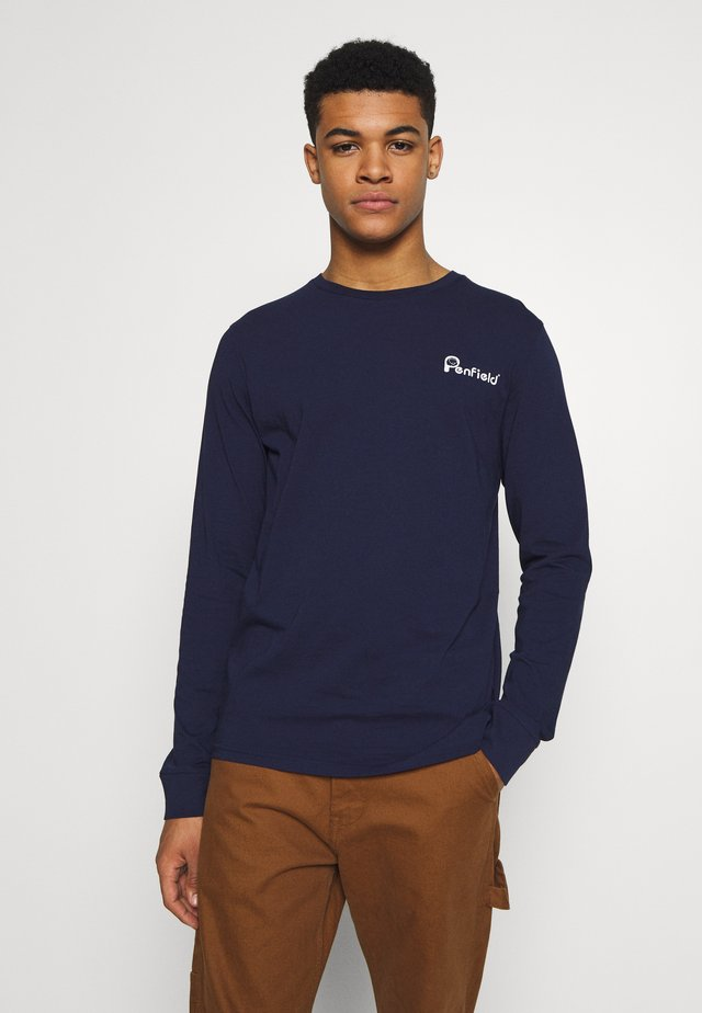 MORAINE  - Long sleeved top - navy