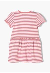 s.Oliver - Jersey dress - light pink stripes - 1